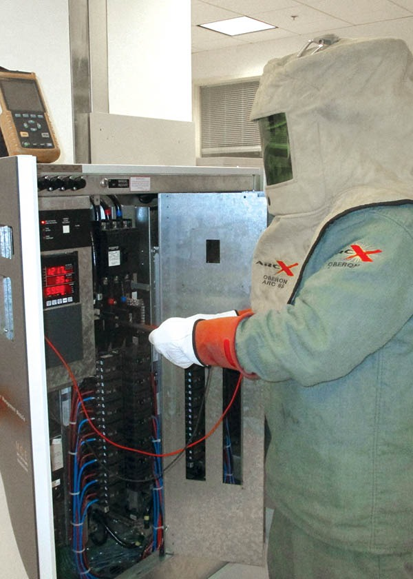 When doing any work on electrical systems, proper personal-protection equipment is essential.