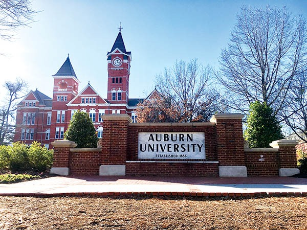 Samford Hall is an iconic building on the expansive Auburn campus. All images by Michelle Segrest