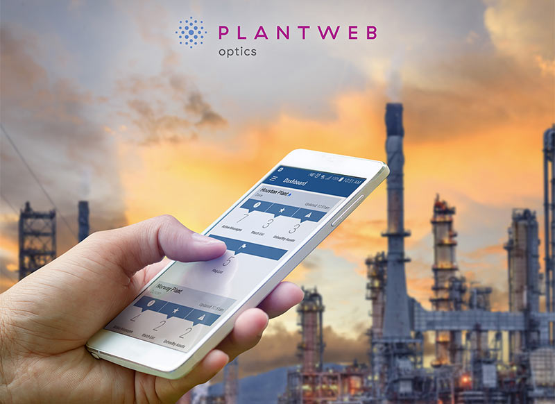 Emerson introduces Plantweb Optics, and mobile-ready collaboration software platform designed to increase reliability and operational performance.